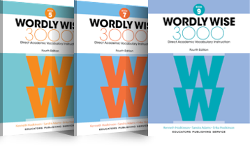 Wordly Wise 3000 4th Edition book covers